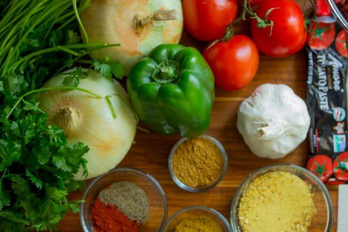 zelenina, koření