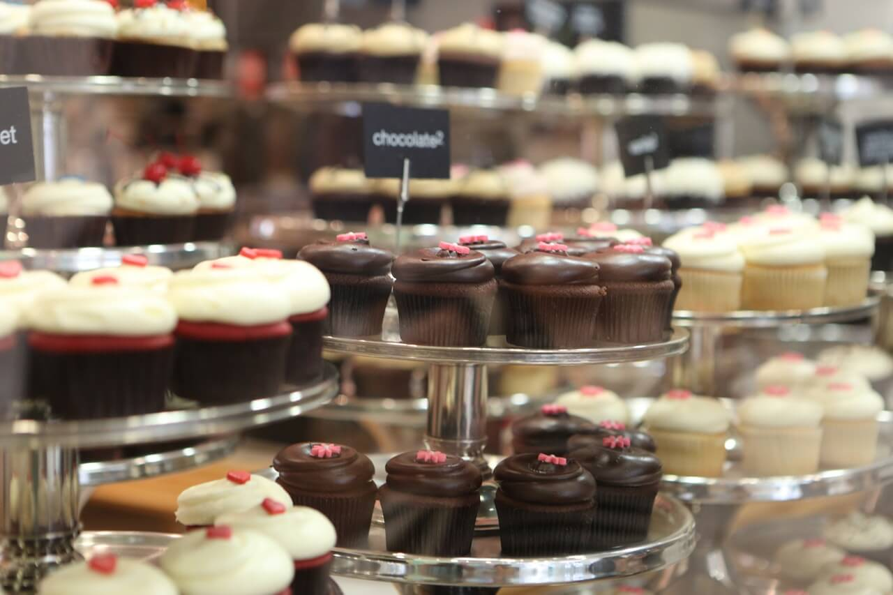 cukr, dezerty, dortíky