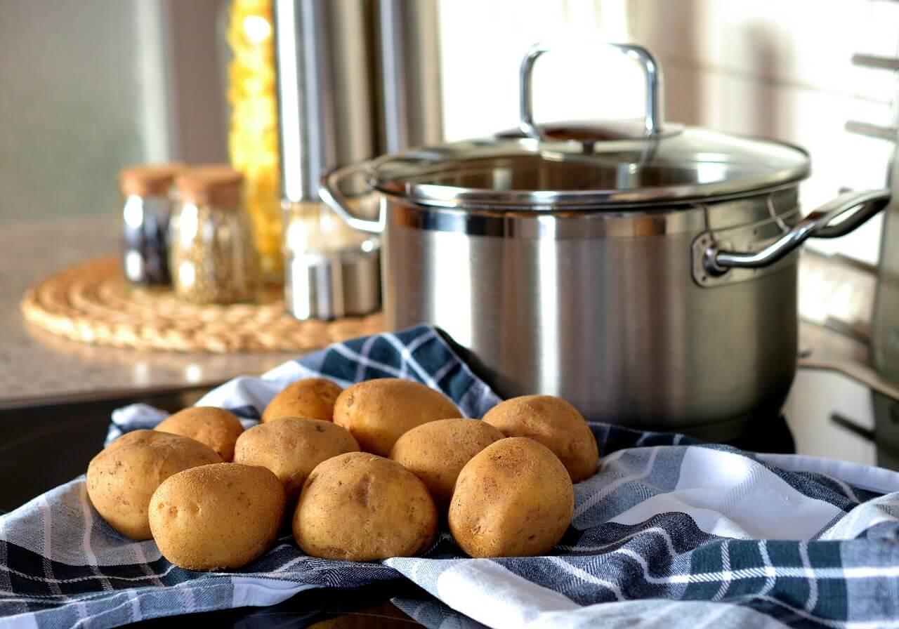 brambora, vláknina, vitamín C