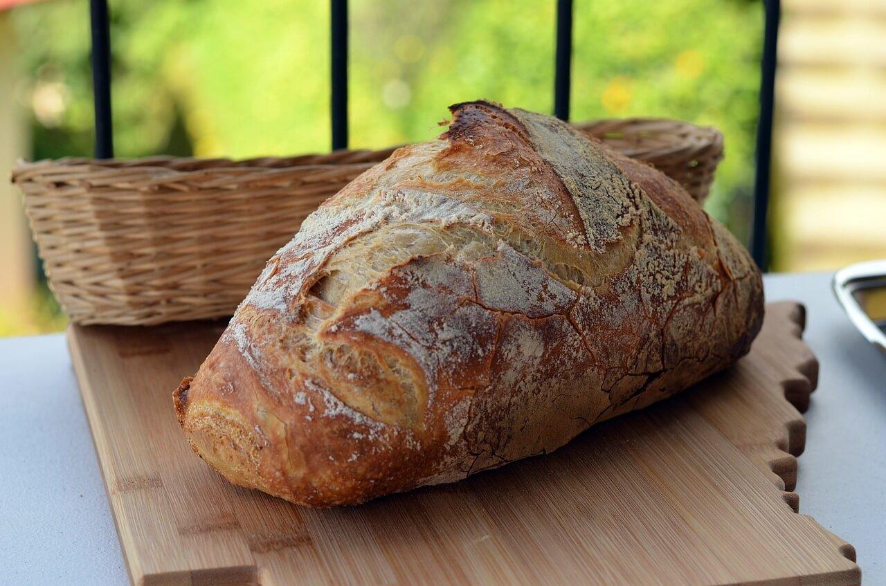 recept na chléb
